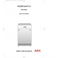 AEG F 84470 VI Dishwasher